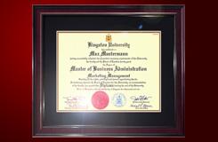 Диплом Kingston University